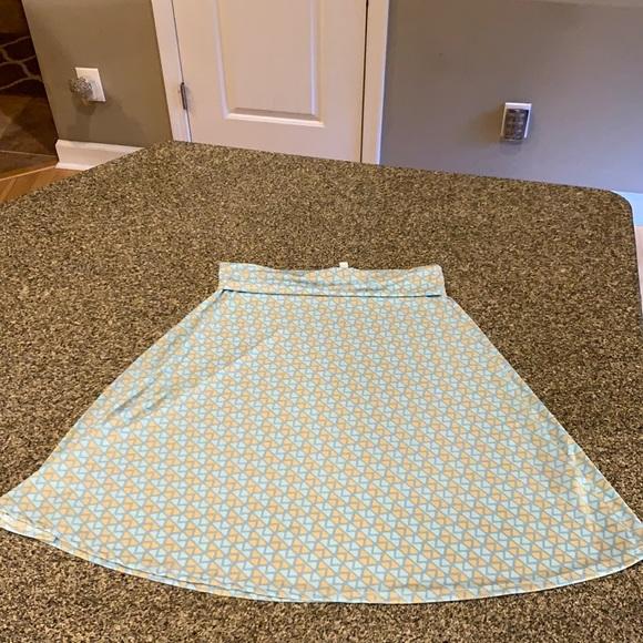 Lularoe Azure Skirt Large